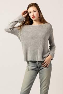Azalea Fuzzy Roundneck Sweater