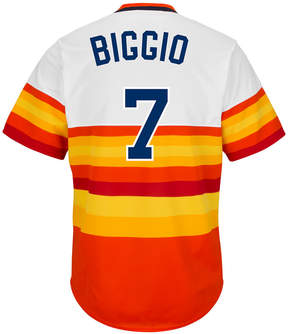 Majestic Men's Craig Biggio Houston Astros Cooperstown Replica Jersey