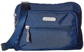 Baggallini - Triple Zip Bagg Cross Body Handbags