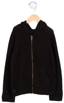 Zadig & Voltaire Boys' Hooded Wool & Alpaca Cardigan