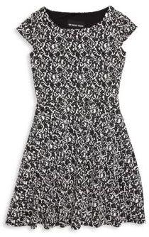 Un Deux Trois Little Girl's & Girl's Printed Fit-&-Flare Dress