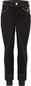 Swarovski Cavallo Black Corvina Breeches with Crystals