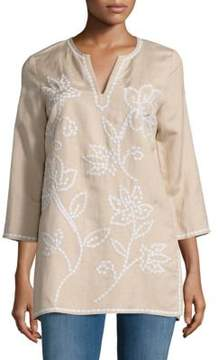 Context Floral Embroidered Tunic