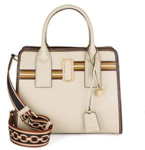 Marc Jacobs Vintage Stripe Big Shot Leather Satchel - PARCHMENT - STYLE