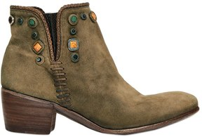 Alberto Fasciani 50mm Maya Suede Beaded Boots