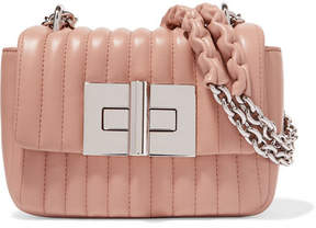 Tom Ford Natalia Mini Quilted Leather Shoulder Bag - Blush