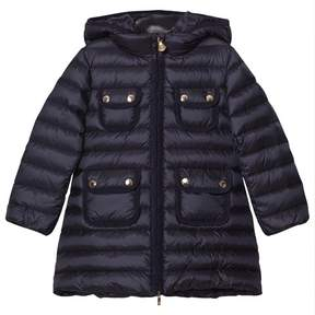 Moncler Navy Padded Nuages Girls Coat