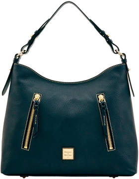Dooney & Bourke Pebble Grain Cooper Hobo - BLACK BLACK - STYLE