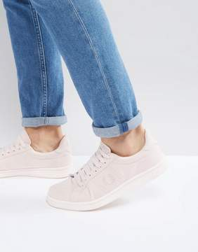 Fred Perry B721 Brushed Cotton Sneakers Pink