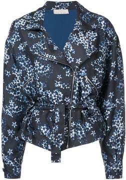 Fleur Du Mal floral zipped jacket