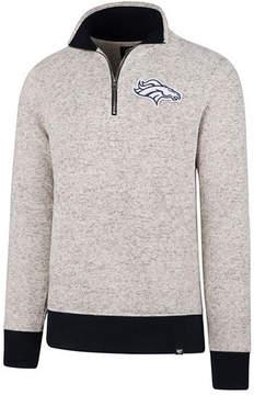 '47 Men's Denver Broncos Kodiak Quarter-Zip Pullover