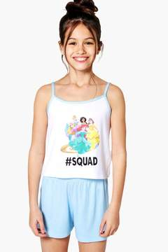 boohoo Girls Disney Princess Squad Nightwear Set