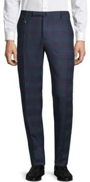 Incotex Checkered Wool Pants