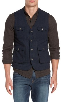 Jeremiah Men's Porter Herringbone Wool Vest