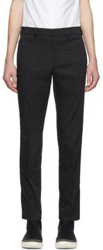 Prada Black Tailored Tapered Trousers