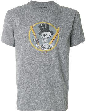 John Varvatos skeleton print T-shirt