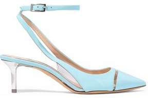 Emilio Pucci Patent-Leather And Pvc Pumps