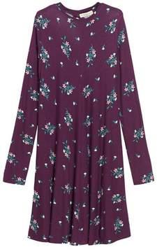 Tucker + Tate Girl's Floral Print Knit A-Line Dress