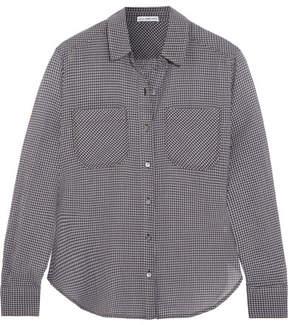 James Perse Little Boy Checked Cotton-voile Shirt - Blue