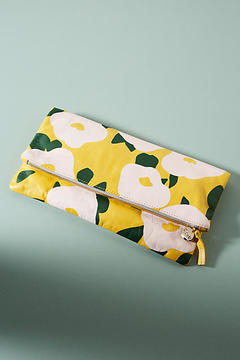 Clare V. Floral Foldover Clutch