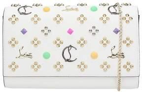 Christian Louboutin White Leather Paloma Handbag