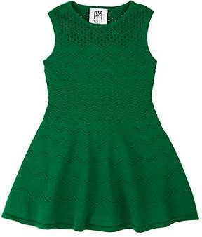 Milly Kids' Fit & Flare Compact Knit Dress