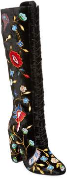 Alice + Olivia Women's Vesey Embroidered Tall Boots