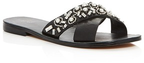 Botkier Alina Jeweled Slide Sandals