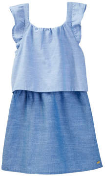Tommy Hilfiger Two-Tone Chambray Dress (Big Girls)