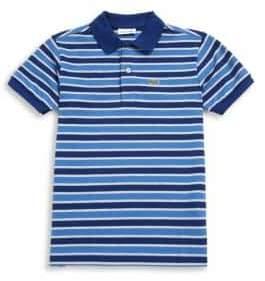 Lacoste Toddler's, Little Boy's & Boy's Striped Polo