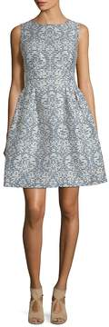 Donna Ricco Women's Printed Fit-&-Flare Dress