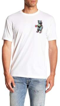 Riot Society Tropical Palms Bear Crew Neck Tee