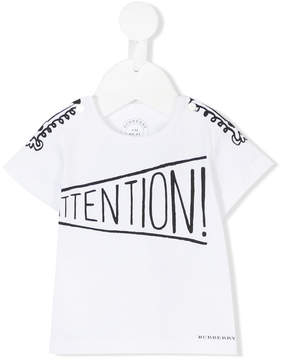 Burberry Attention print T-shirt