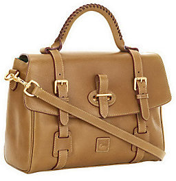 Dooney & Bourke As Is Florentine Leather Satchel