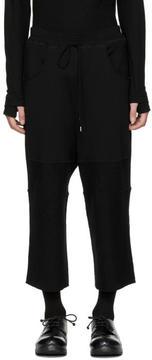 The Viridi-anne Black Wide Trousers