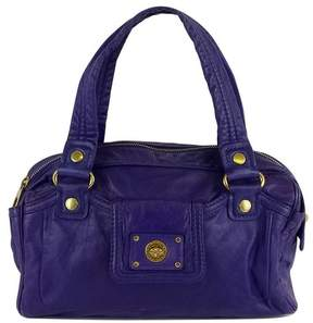 Marc by Marc Jacobs Purple Leather Shoulder Bag