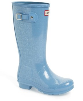 Hunter Girl's 'Original Glitter' Rain Boot
