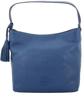Tory Burch Thea Hobo Tidal Blue Pebbled Leather Ladies Handbag 11169714489 - TIDAL WAVE - STYLE