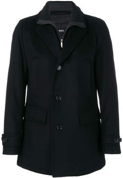 HUGO BOSS layered coat