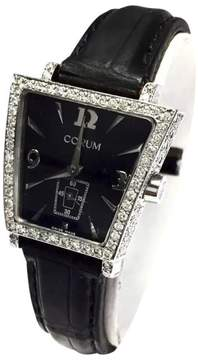 Corum Trapese Stainless Steel Band Black Dial 28.5mm Womens Watch