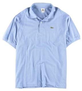 Lacoste Mens Textured Rugby Polo Shirt Blue 2XL