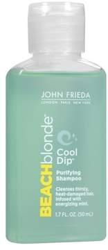 John Frieda Beach Blonde® Cool Dip® Purifying Shampoo - 1.7oz