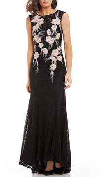 Decode 1.8 Embroidered Lace Gown