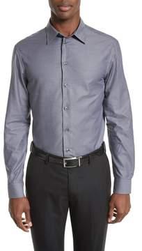 Armani Collezioni Regular Fit Mini Box Sport Shirt