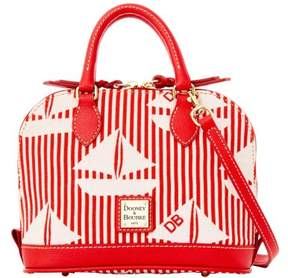 Dooney & Bourke Sailboat Bitsy Bag - RED WHITE - STYLE
