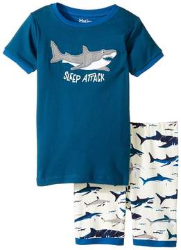 Hatley Toothy Sharks Short Pajama Set (Toddler/Little Kids/Big Kids)