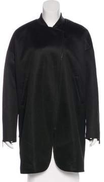 Barbara Bui Mesh Zip-Up Coat