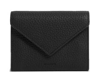 AllSaints Voltaire L Leather Card Holder