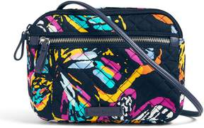 Vera Bradley Iconic RFID Little Crossbody - PAISLEY STRIPES - STYLE