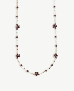Ann Taylor Flower Burst Delicate Necklace